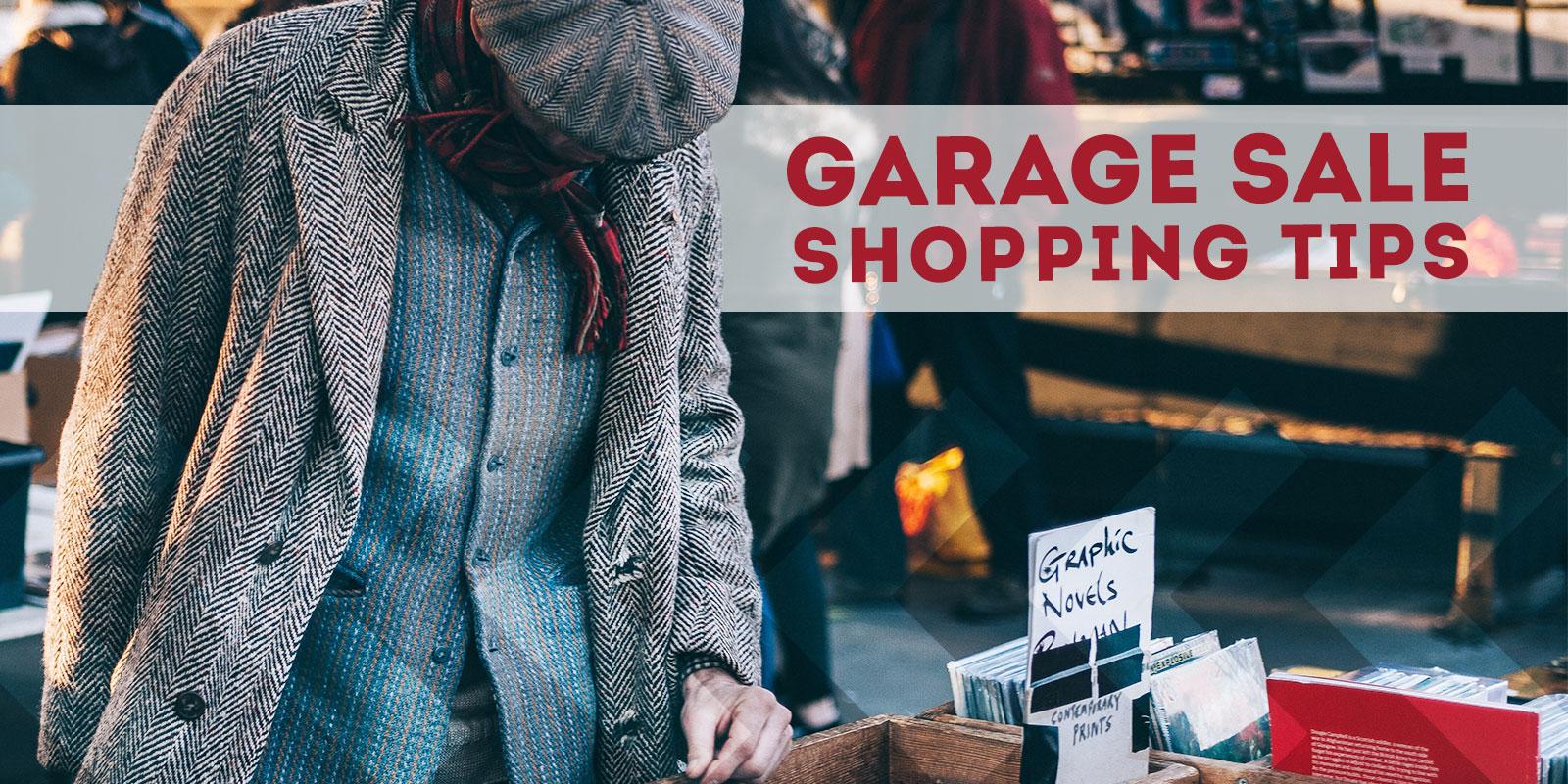 Garage Sale Shopping Tips