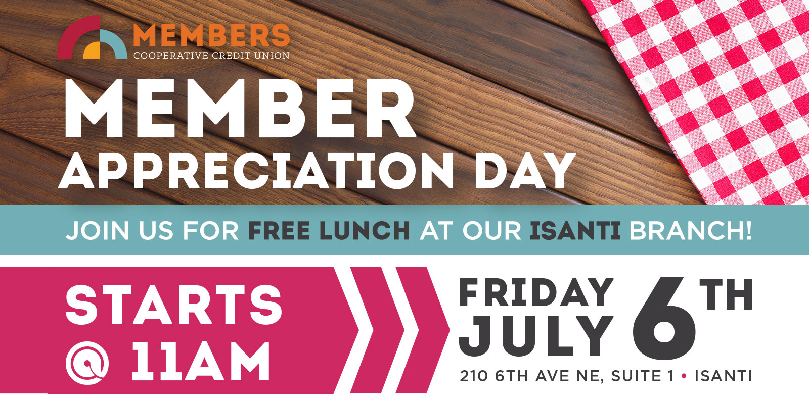 Isanti Member Appreciation Day
