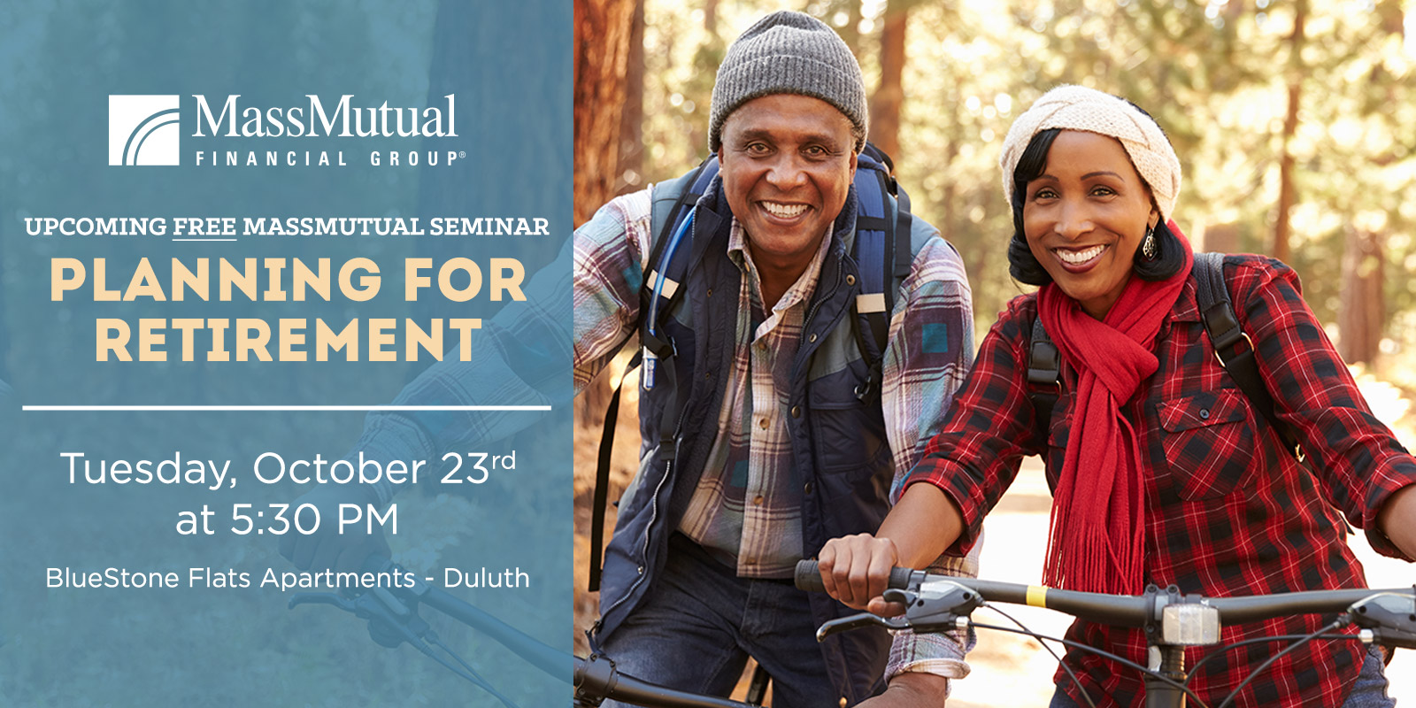 MassMutual Planning for Retirement Seminar in Duluth MN