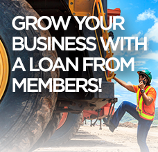 Grow your business with a loan from Members