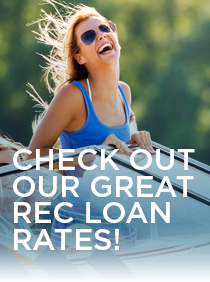 Members recreational vehicle loan rates
