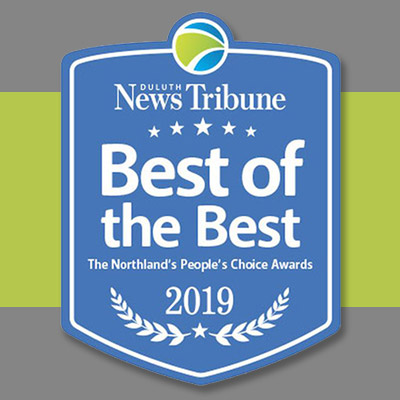 Best of the Best Award - Best Bank / Credit Union in the Northland