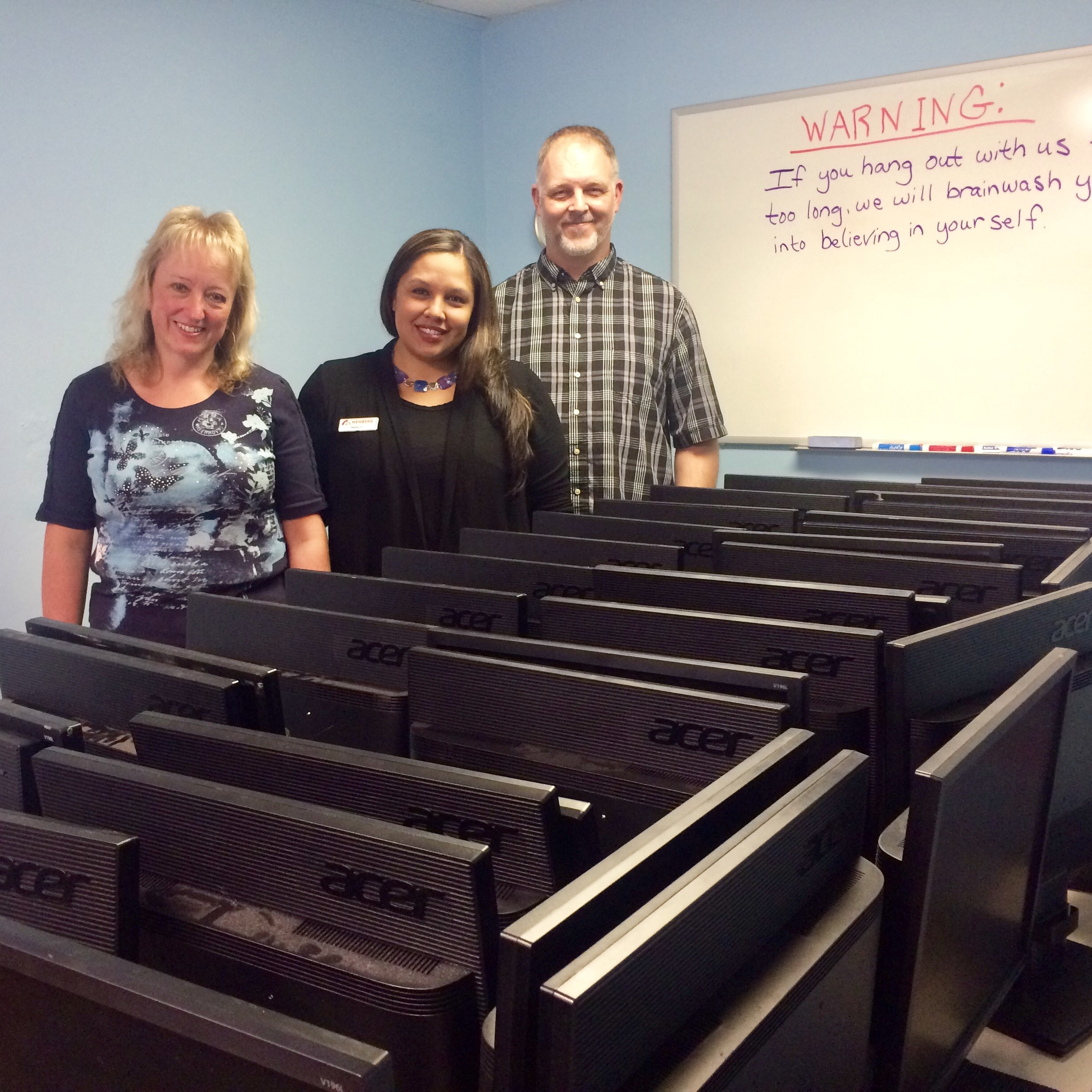 MCCU Donates IT Equipment to PCs for People