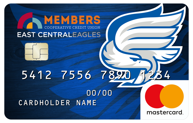 East Central High School - Eagles Debit Card